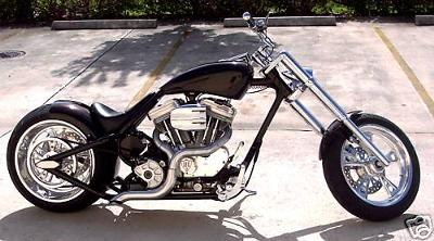 HARLEY CHOPPER PROSTREET BOBBER is a G2 GANGSTER CUSTOM S&S TP 124
