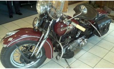 Harley Davidson 1947 Knucklehead Springer for Sale