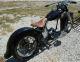 1957 Harley Panhead Straightleg Frame Basket Case