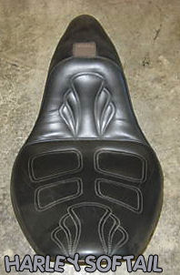 HARLEY DAVIDSON SOFTAIL CORBIN LEATHER MOTORCYCLE SEAT