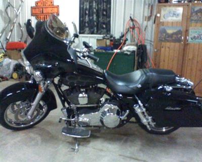 Harley Nitrous Kit 2000 Police Special Bagger FLHTPI Motorcycle