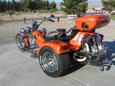 Harley Davidson Rewaco Trike Model HS6