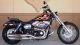 2010 Harley Davidson Dyna Wide Super FXR FXDWG  Black Flames Custom Pain Flamed