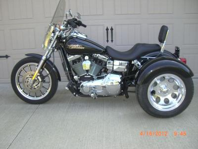 Harley Davidson Low-Rider Trike Lowrider Motorcycle