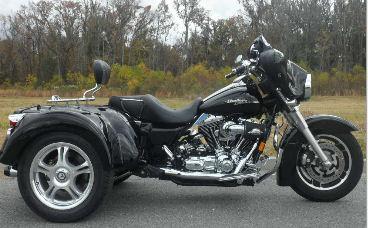 2008 Harley Davidson Street Glide Trike Three Wheeler Motorcycle