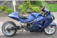 blue airbrushed paint 2001 Suzuki Hayabusa Super Custom Turbo