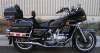 honda gl1100 goldwing black