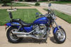 2003 honda magna v45 blue pearl for sale