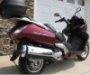 2009 burgundy honda silverwing scooter motorcycle