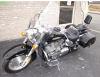black 2008 honda vtx 1300