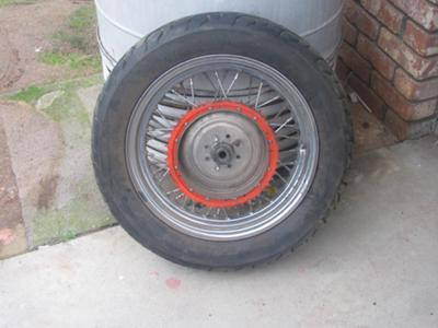 1977 Harley Davidson Ironhead Sportster Wheel and Rim