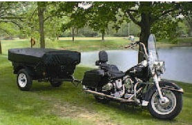 motorcycle camper trailer used pictures