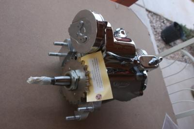 Used Revtech Harley Davidson 4 Speed Transmission (this photo is for example only; please contact seller for pics of the actual motorcycle parts for sale in this classified)