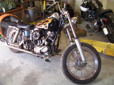 Harley Davidson Panhead Beater