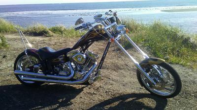 2005 Vengeance Banshee Chopper Motorcycle