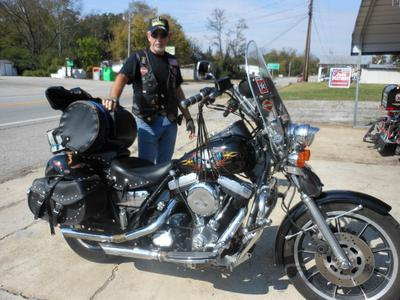 Picture of Me and My 1990 HARLEY DAVIDSON FXR-P