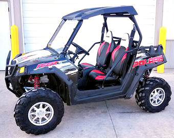 2012 Polaris RZR S 800 4X4 ATV