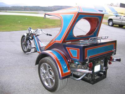 Prize-Winning Custom VW Show Trike Volkswagen