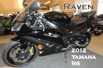 Yamaha R6 2012 Raven