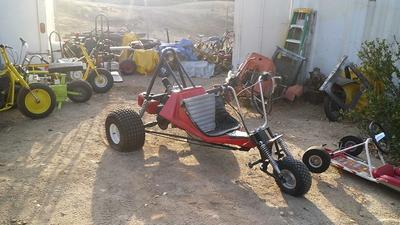 440 cc Rupp Tri Sport Trike Motorcycle