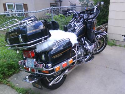 Honda Goldwing GL1100 motorcycle