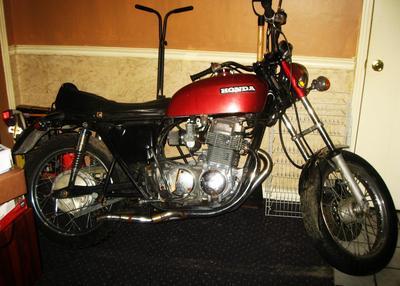 Sandcast 1970 Honda CB750 Motorcycle