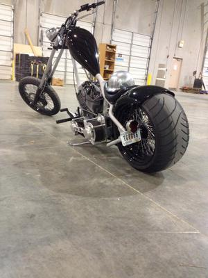 Custom Built 127ci Sick n Nasty 2008 Chopper Motorcycle for sale by owner