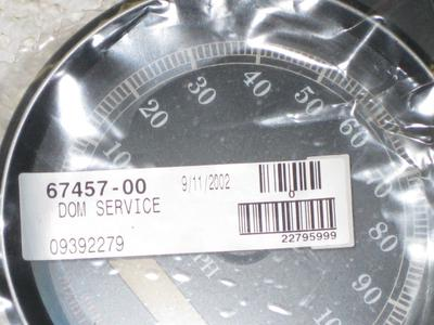 2003 Harley Davidson FLHTCUI Electra Glide Ultra Classic speedometer Harley Part No. 67457-00