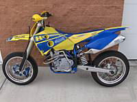 2004 Honda super motard dirt racing sport bike motorcycle