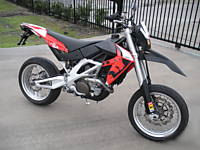 2007 Honda Aprilia super motard dirt racing sport bike motorcycle