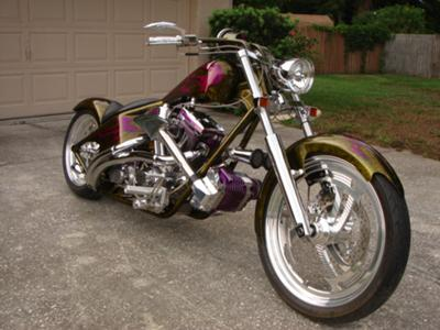 Supercharged Custom Harley Show Winner (this photo is for example only; please contact seller for pics of the actual motorcycle for sale in this classified)