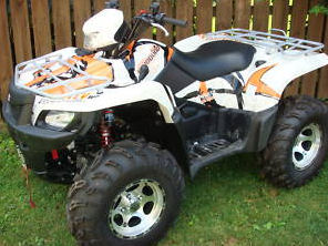 2009 Suzuki King Quad ATV LT-A750 AXi Power Steering 4x4