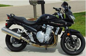 black 2007 Suzuki Bandit 1250S Black Motorcycle