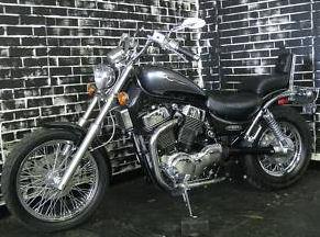 Black 2003 Suzuki INTRUDER 1400 VS1400GL