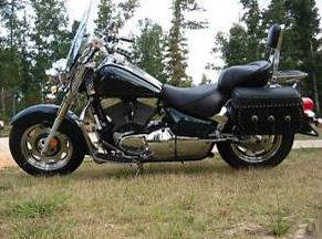 Deep Forest Green 2000 Suzuki Intruder lc1500 lc 1500