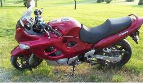 2006 Suzuki GSX Katana750 red burgundy