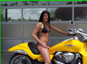 bright yellow 2008 Suzuki Boulevard M109R Limited Edition