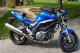 blue 2007 suzuki sv650 sv 650 motorcycle bike