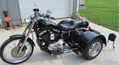 1999 Harley Davidson sportster 1200 with a Voyager trike kit