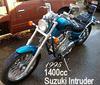 1400cc 1995 Suzuki Intruder 1400 w blue paint color