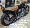 1954 Harley Davidson Panhead Motorcycle