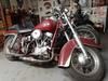 Old 1958 Harley Davidson Panhead Motorcycle for Sale
