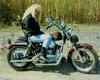 1962 Harley Sportster XLCH just before trans broke in 1993