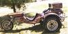 1976 VW trike motorcycle w custom paint job