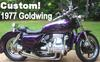 Custom 1977 Honda Goldwing GL1000