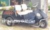 1978 Harley Davidson Golf Cart Three Wheel Gas Motor