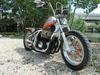 Bored Out Custom 1978 Honda CB750K Bobber Motorcycle with an 836 kit