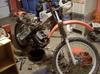 Right Side of the 1979 Honda XR250 parts motorcycle (example only; please contact seller for pics)