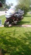 1990 6 Cylinder Honda Goldwing GL1500 50th Anniversary Special Addition for sale by owner