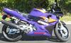 Purple and Black 1994 Honda CBR 600 F2 in Clean Stock Condtiion